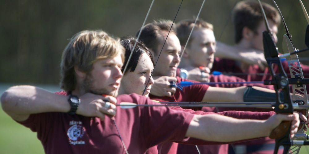 Archery society at the University of Leeds