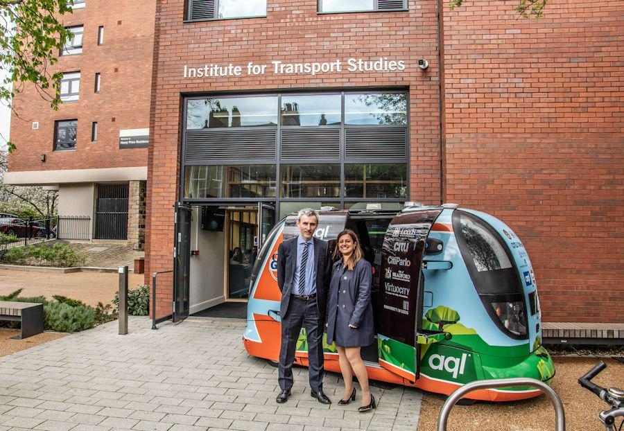 Plans unveiled to trial self-driving PODS in Leeds