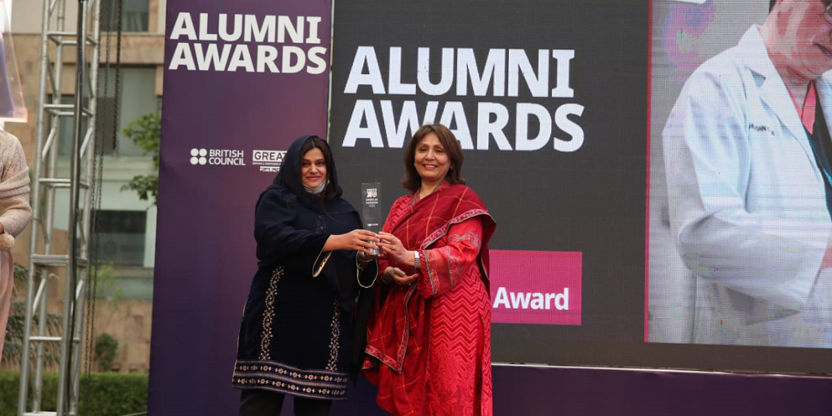 Success at Study UK Alumni Awards in Pakistan