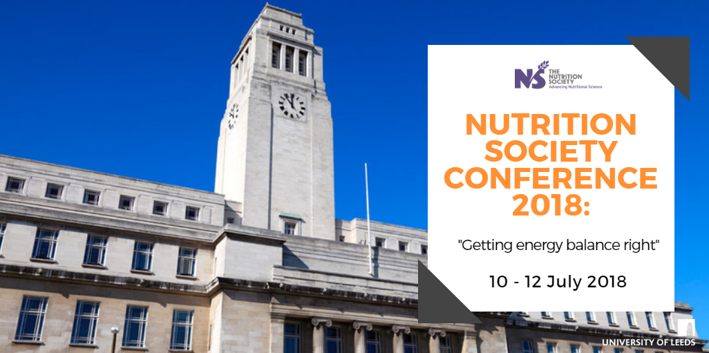 Nutrition Society Conference: getting energy balance right