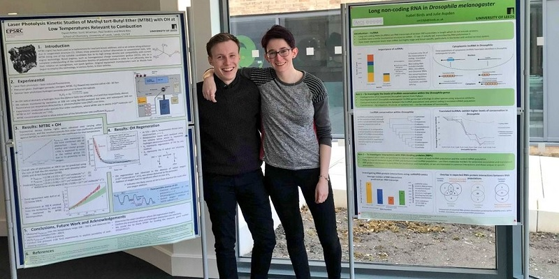 Leeds students present their research at the National Natural Sciences Student Conference