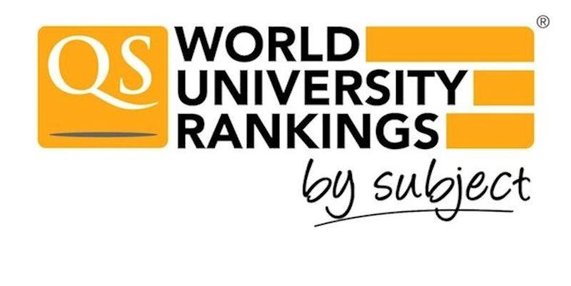 QS World University Rankings by Subject 2017