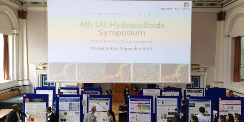 University of Leeds hosted the 4th UK Hydrocolloids Symposium