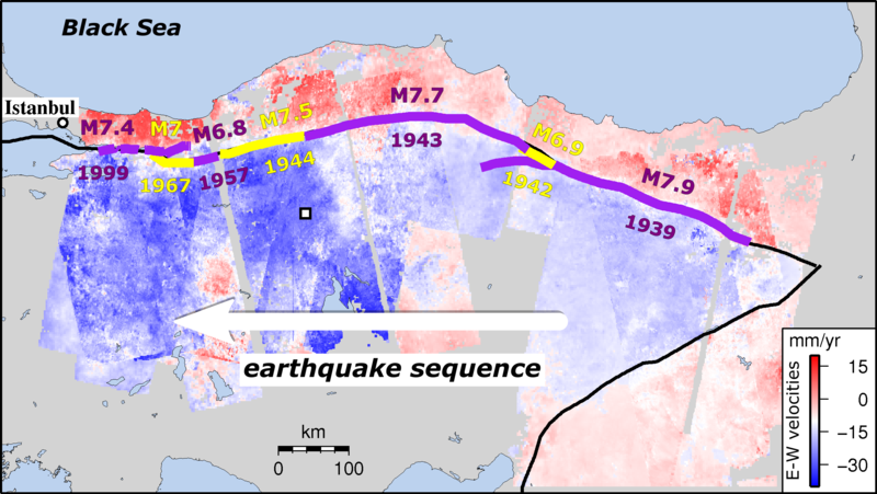 Turkish fault reveals seismic steadiness