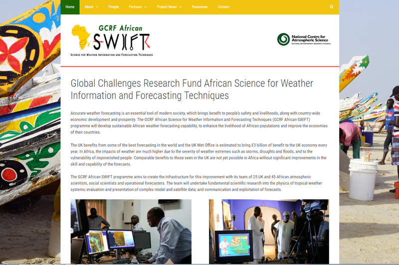 GCRF African SWIFT Website Launch