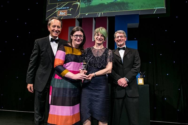 Outstanding Digital Innovation at the Times Higher Awards