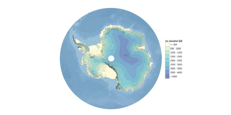 CryoSat gives best 3D view of Antarctica yet
