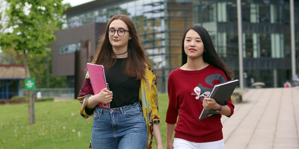 International students at the University of Leeds