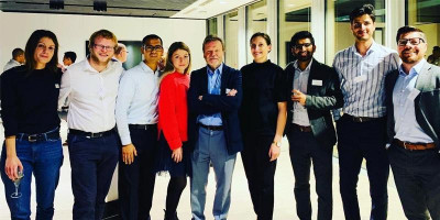 Alumni at the ITS event in London November 2019