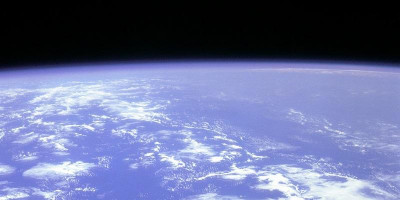 Image of the Earth from space.