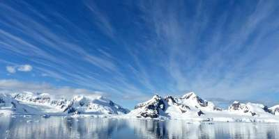 A wide view of ice sheets in Antarctica. Image credit: jcrane on Pixabay