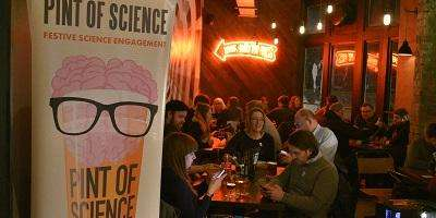 Pint of science event