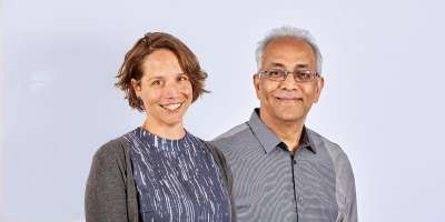 Dr Sally Russell and Dr Chandra Balijepalli from the University of Leeds