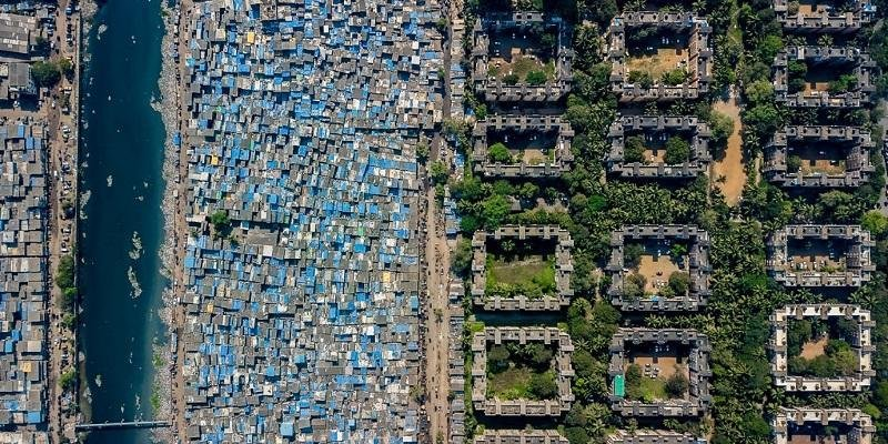 Image of Mumbai.   Copyright: Unequal Scenes, @johnny_miller_photography